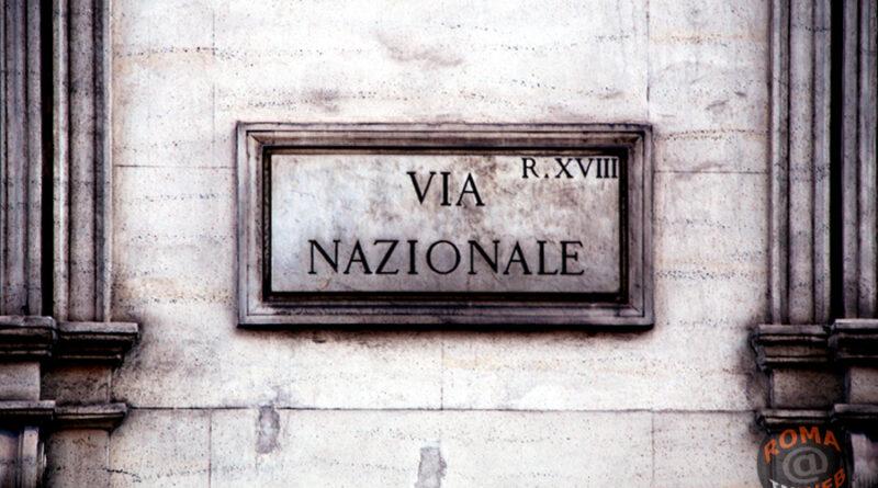 Via Nazionale · Roma