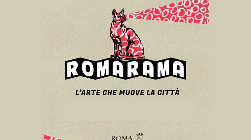 Romarama 2020: L'arte che muove la città…